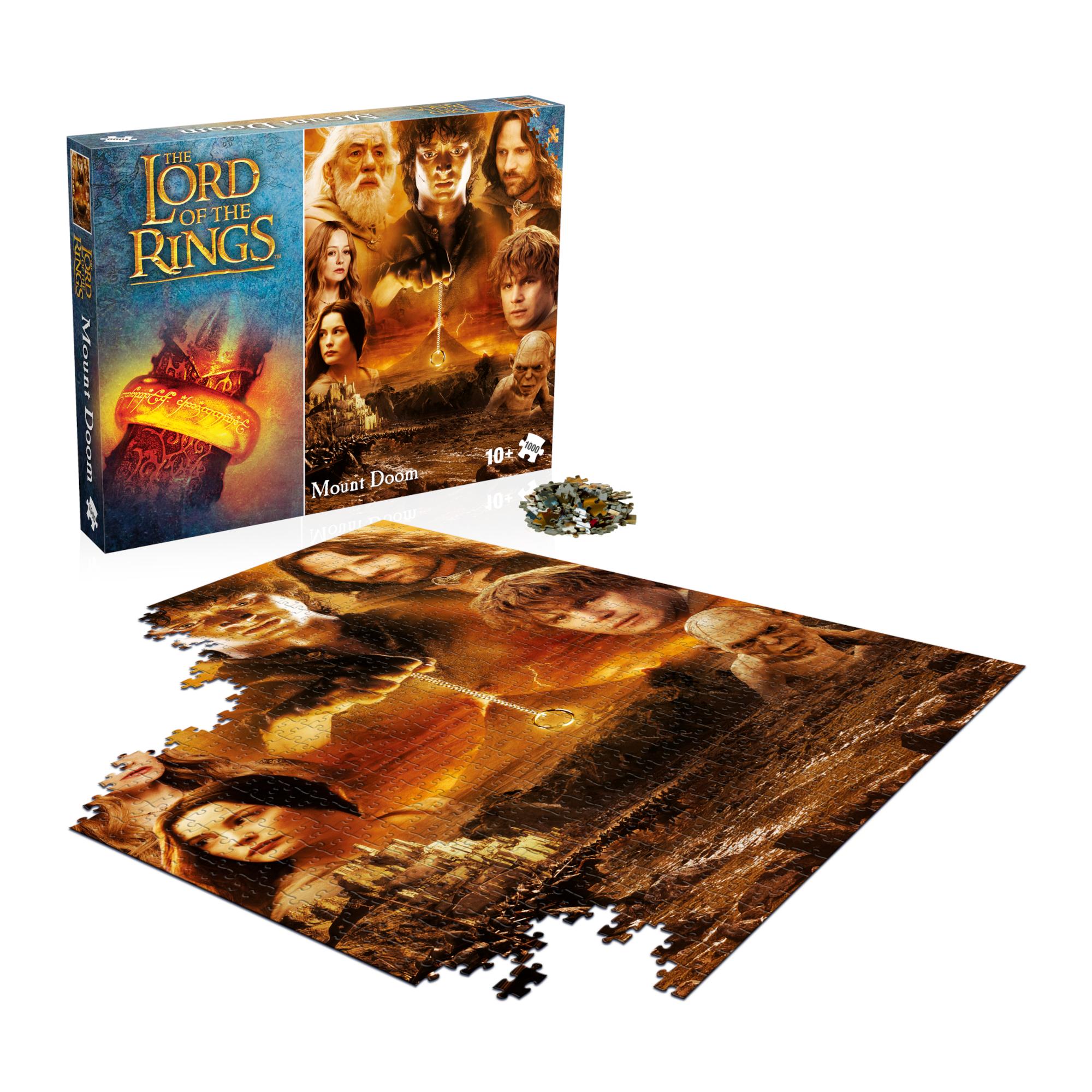Herr der Ringe -  Puzzle Mount Doom - 1000 Teile