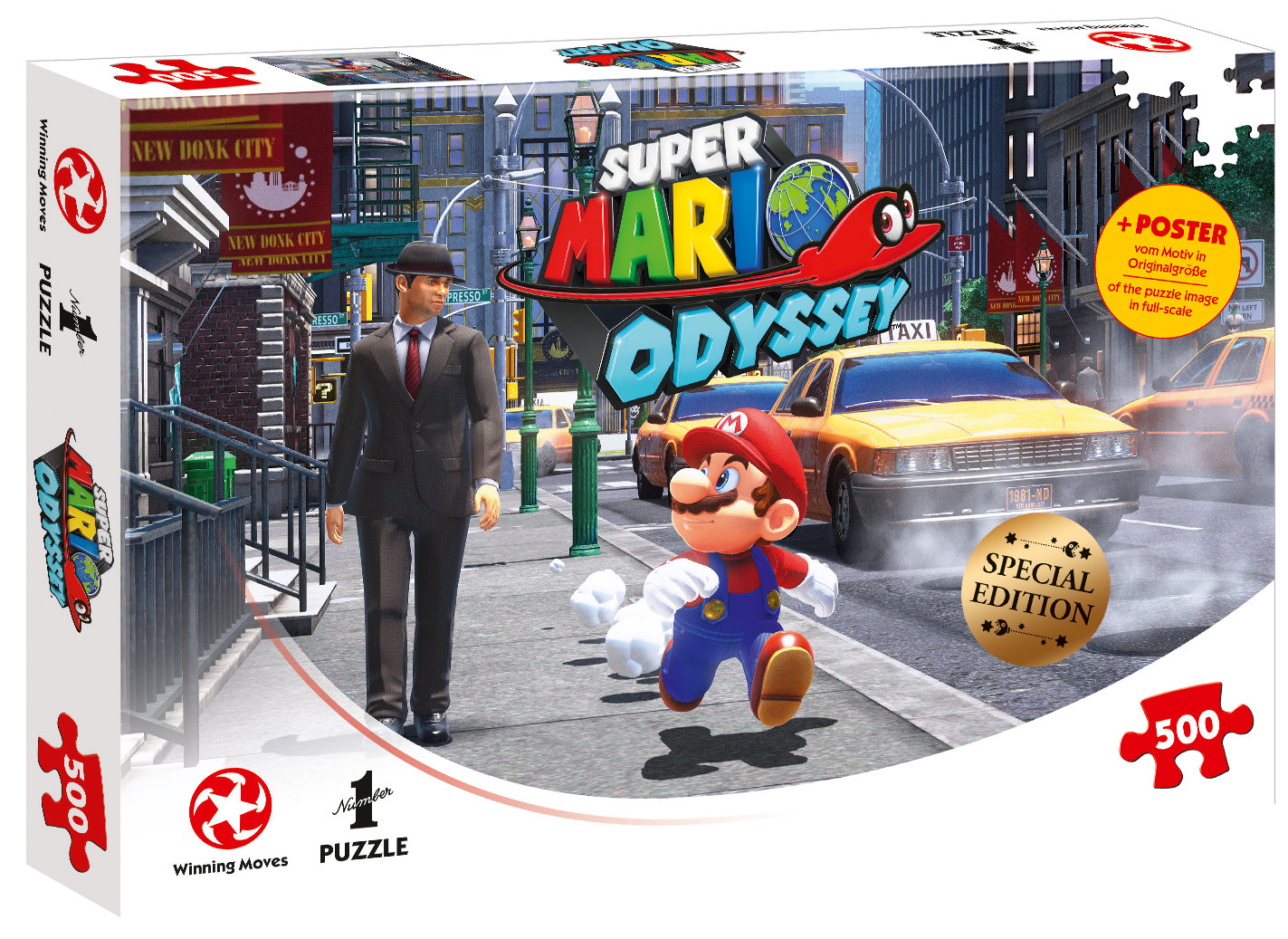Puzzle Super Mario Odyssey New Donk City 500 Teile