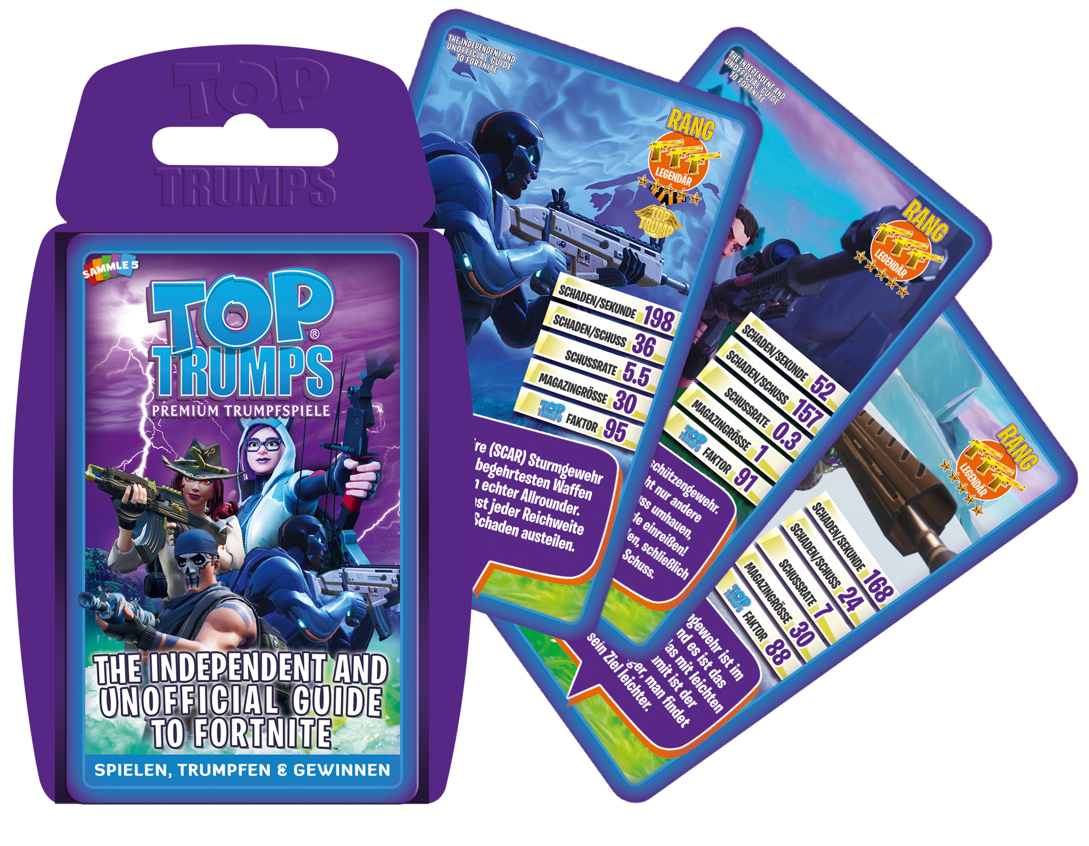 Top Trumps The Independent and Unofficial Guide to Fortnite