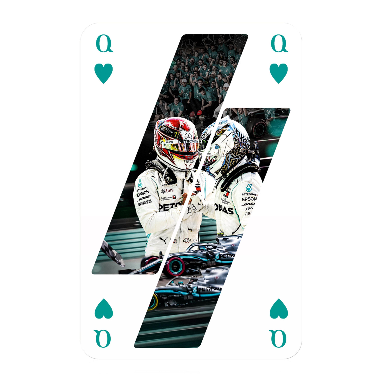 Number 1 Spielkarten Mercedes