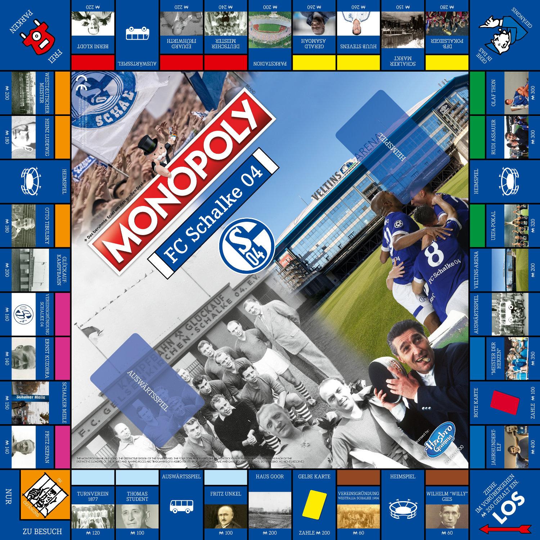 Monopoly FC Schalke 04 Spielbrett