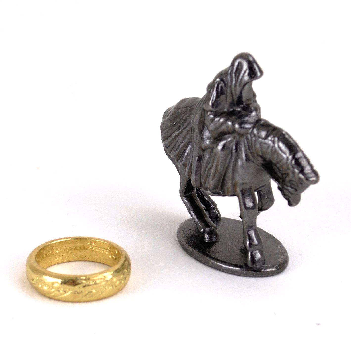 Figur Ring und Ringgeist für Trivial Pursuit Herr der Ringe Collector's Edition
