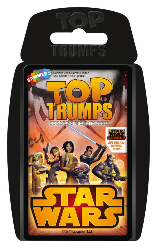 Top Trumps Star Wars Rebels