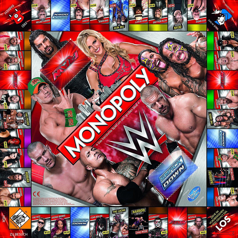 """Das """"WWE"""" Spielbrett"""