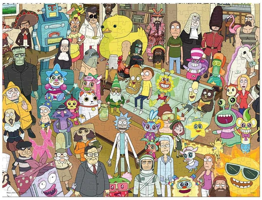 Rick and Morty - Puzzle Friends - 1000 Teile