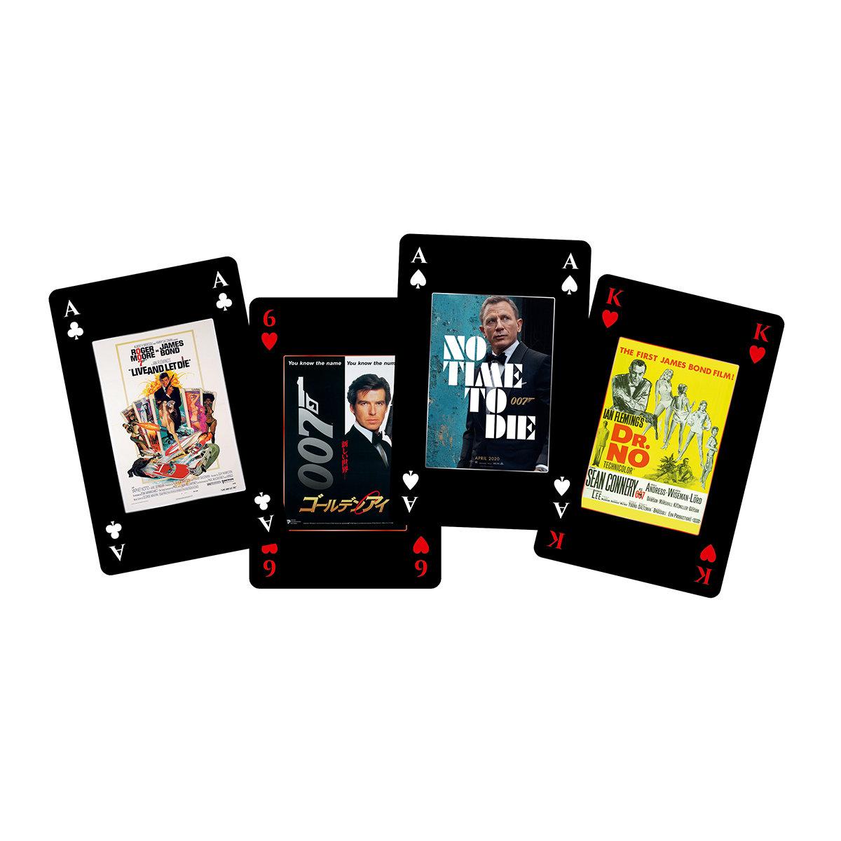 Number 1 Spielkarten James Bond 007