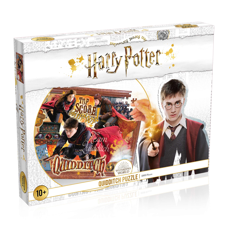 Puzzle 1000 Teile -  Harry Potter - Kids Quidditch