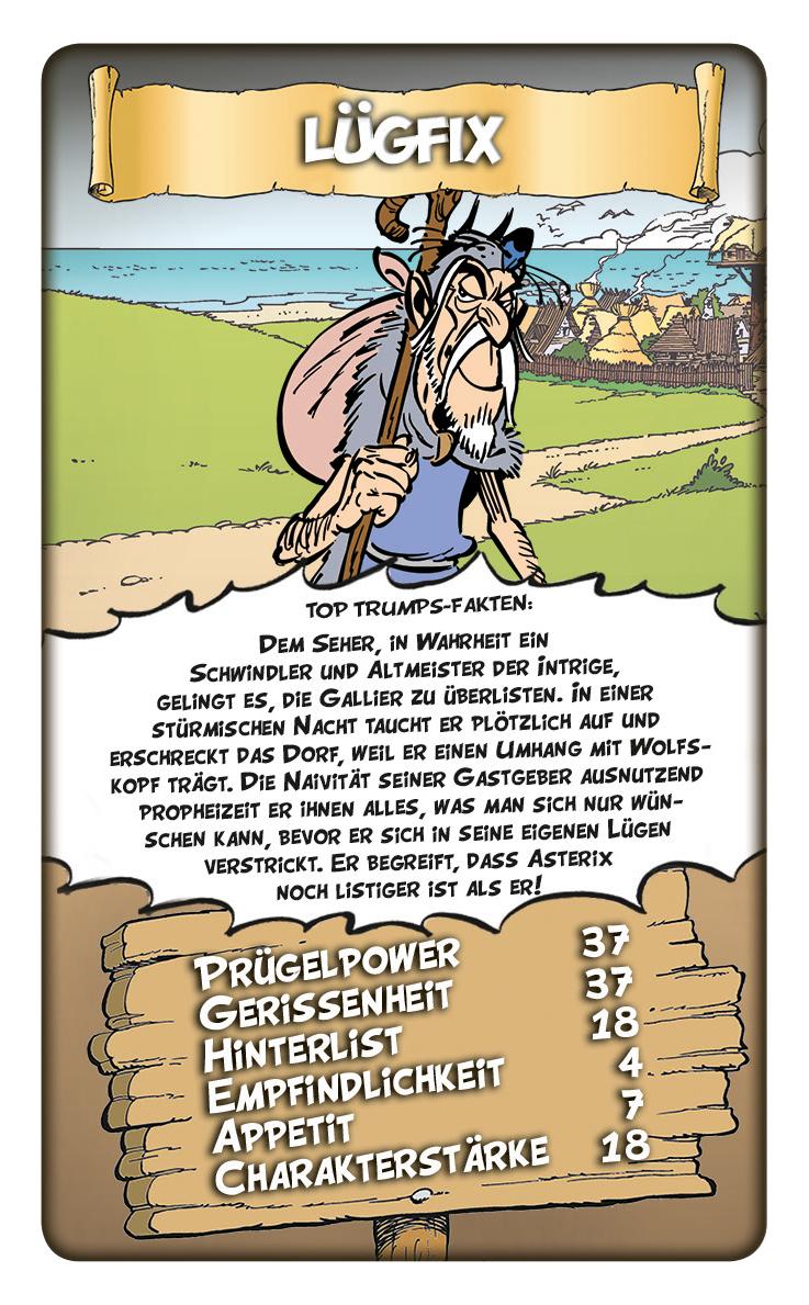 Top Trumps Asterix