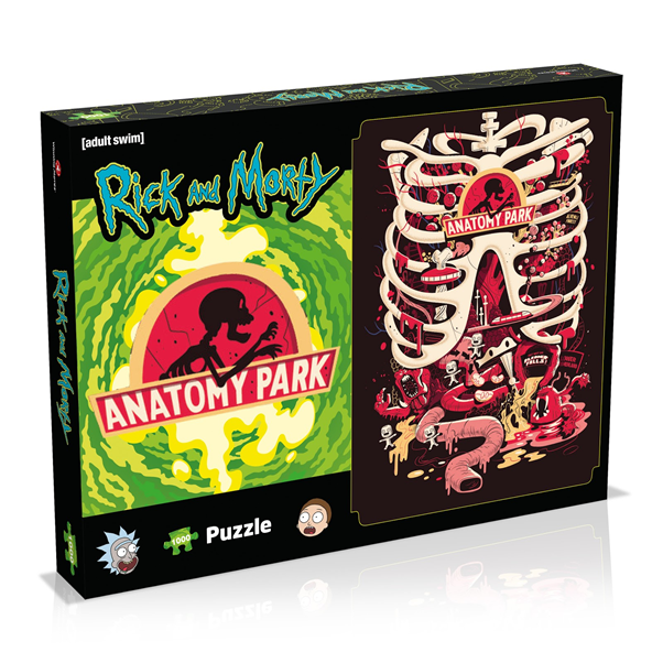 Rick and Morty Anatomy Park Puzzle, 1000 Teile