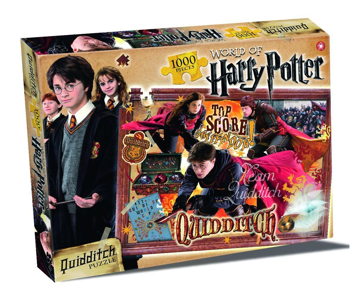 Puzzle Harry Potter Quidditch, 1000 Teile