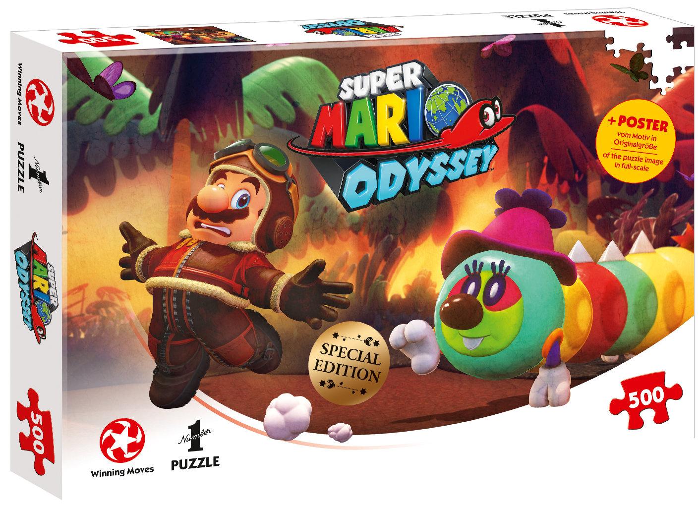 Puzzle Super Mario Odyssey Forgotten Isle 500 Teile