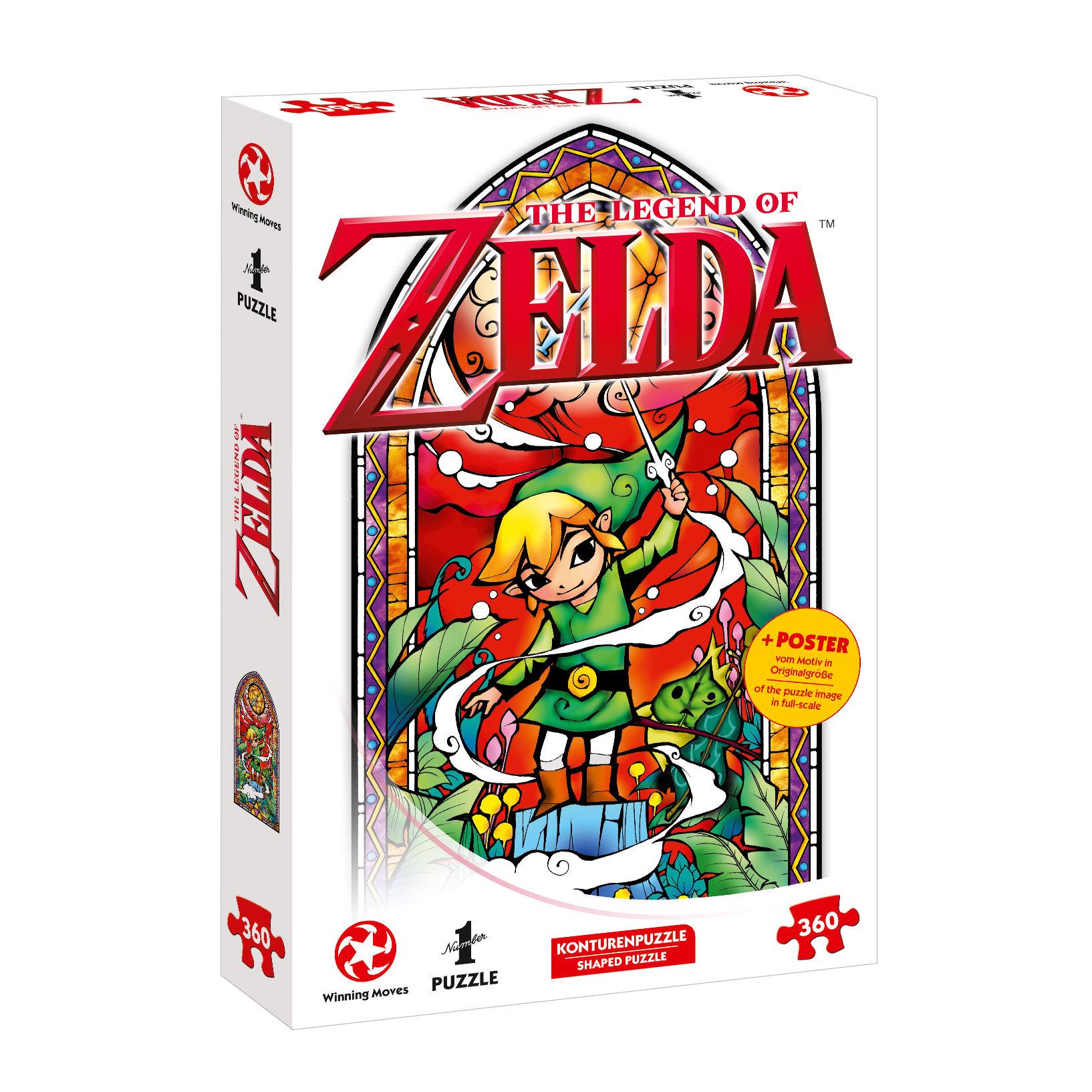Puzzle Zelda Link - Wind's Requiem 360 Teile