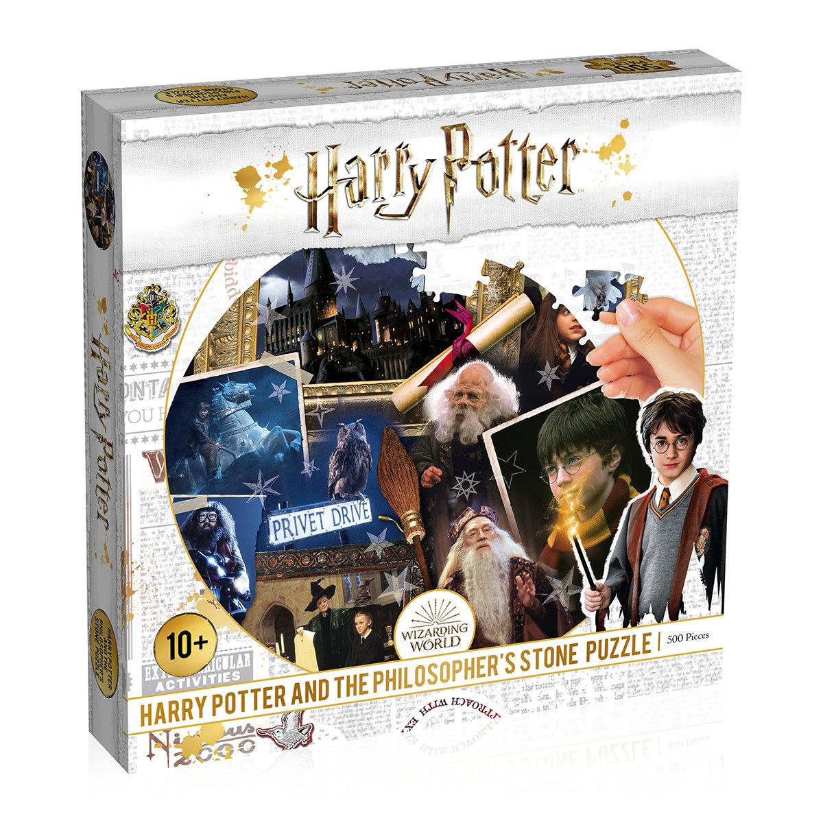 Puzzle Harry Potter Stein der Weisen, 500 Teile