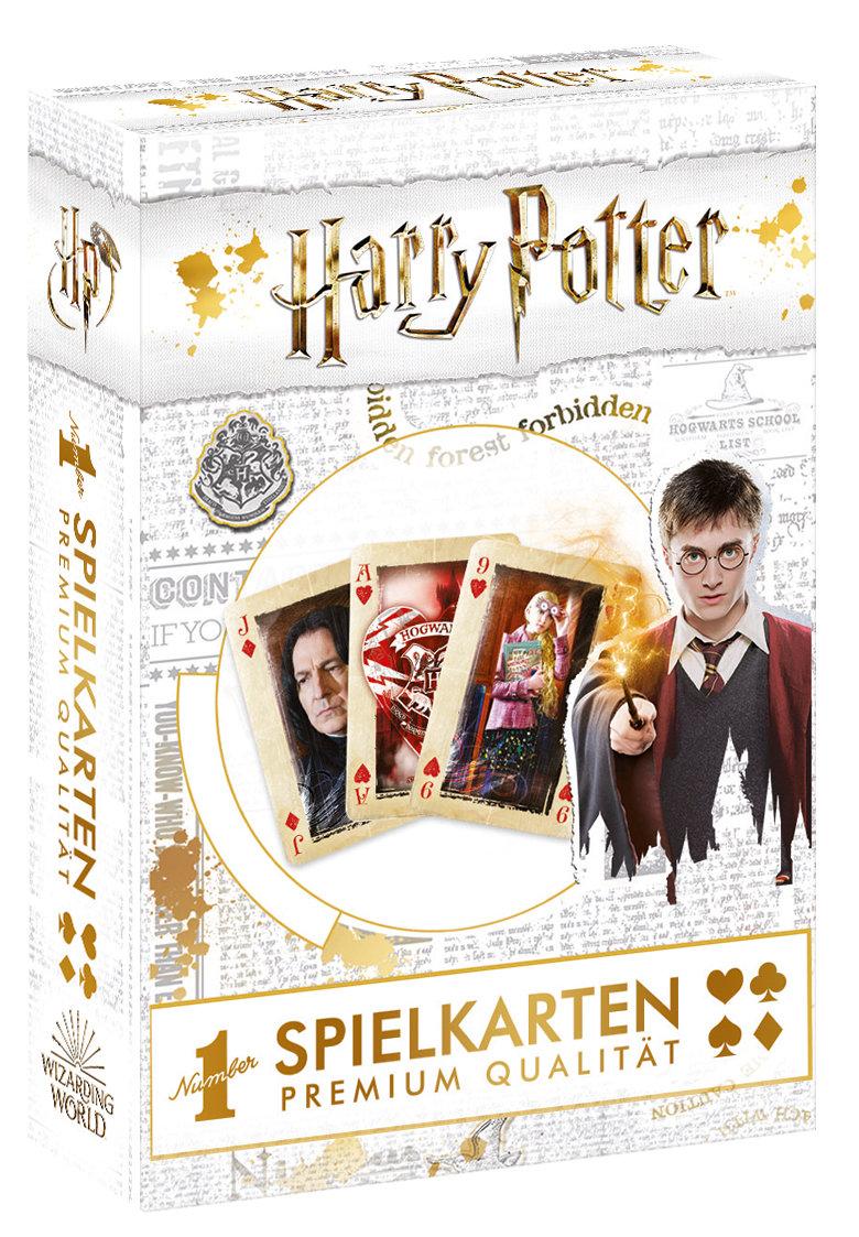 Number 1 Spielkarten Harry Potter gold