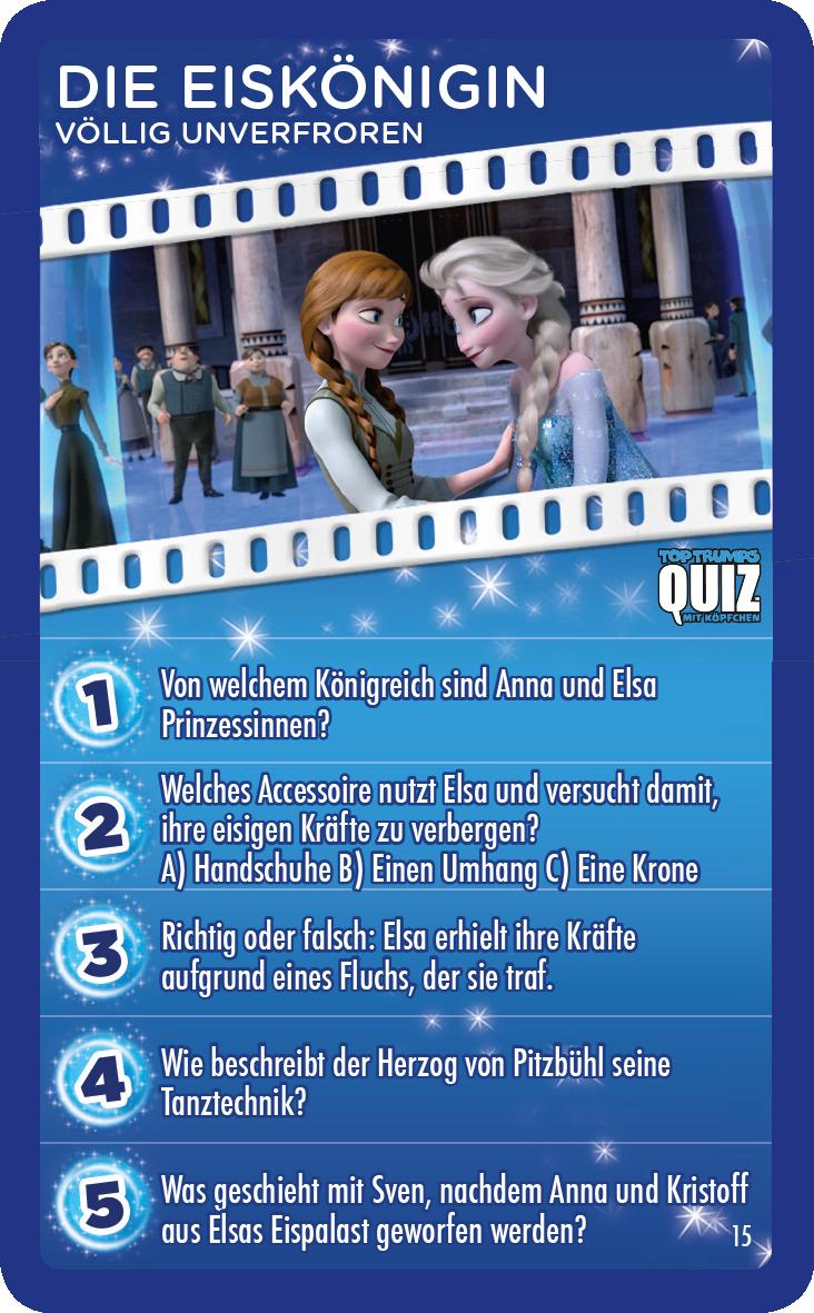 Top Trumps Quiz Disney