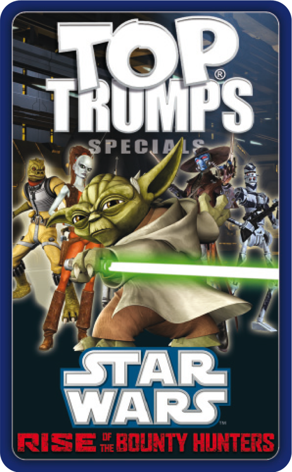 Top Trumps Star Wars Rise of the Bounty Hunters
