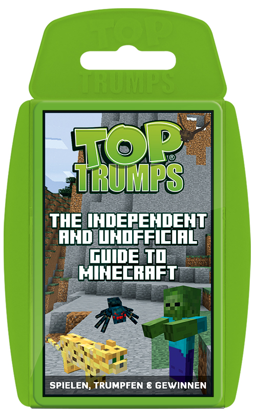 Top Trumps The Independent And Unofficial Guide To Minecraft