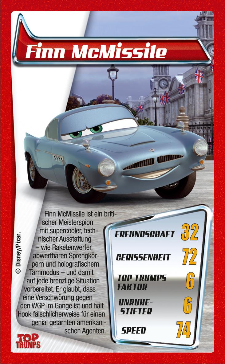 Top Trumps Disney Cars