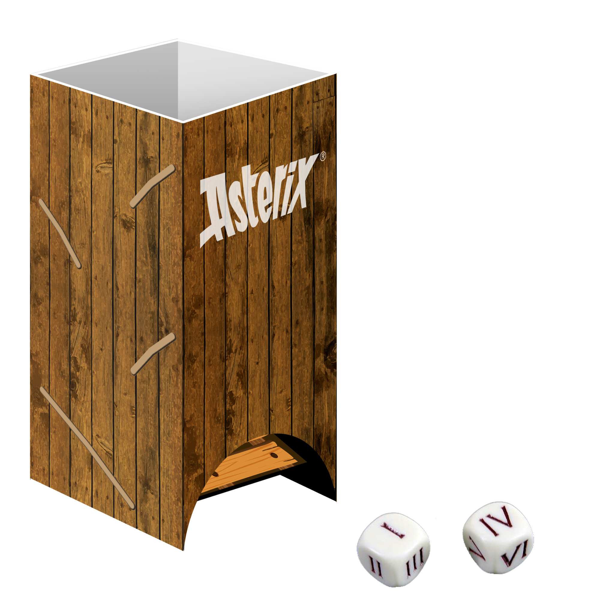 Monopoly Asterix und Obelix Collector's Edition Dice Tower