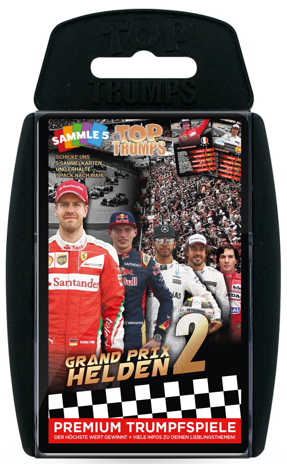 Top Trumps Grand Prix Helden 2