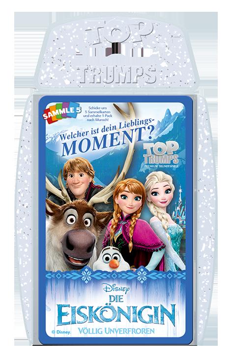 Top Trumps Die Eiskönigin 30 Momente