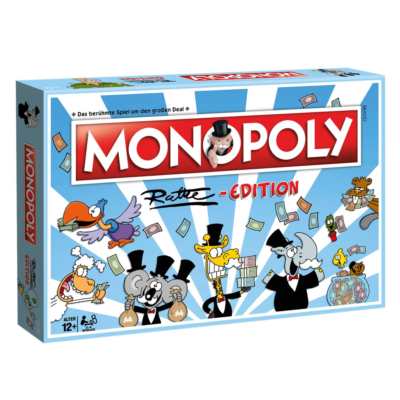 Monopoly Ruthe Cartoon Edition