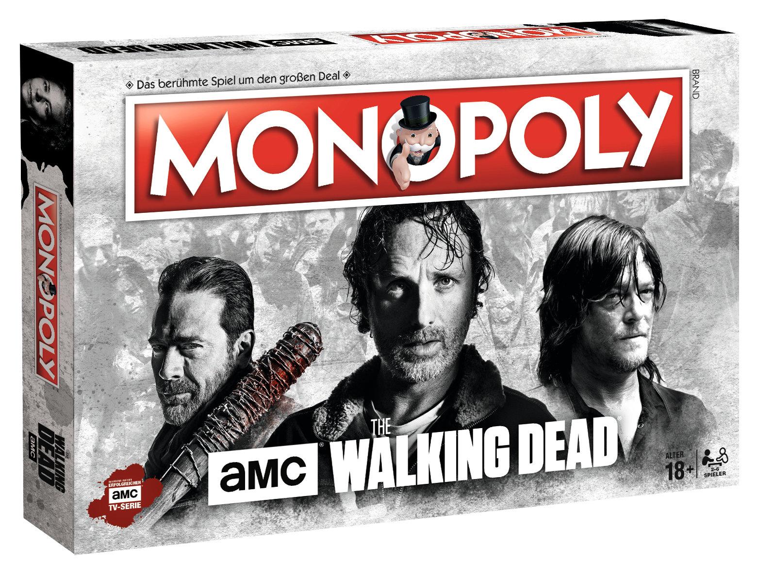Monopoly The Walking Dead AMC