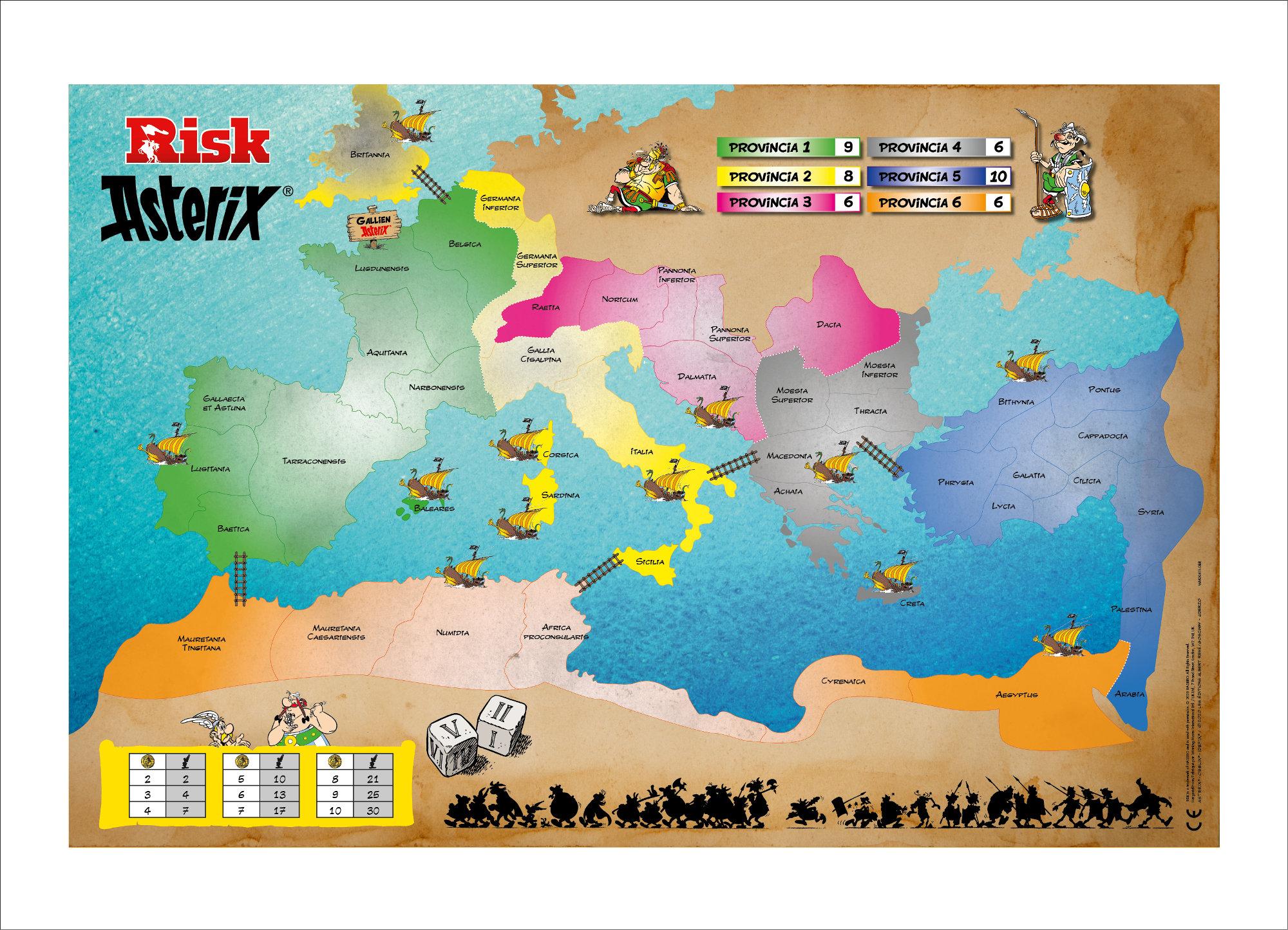 Risiko Asterix und Obelix