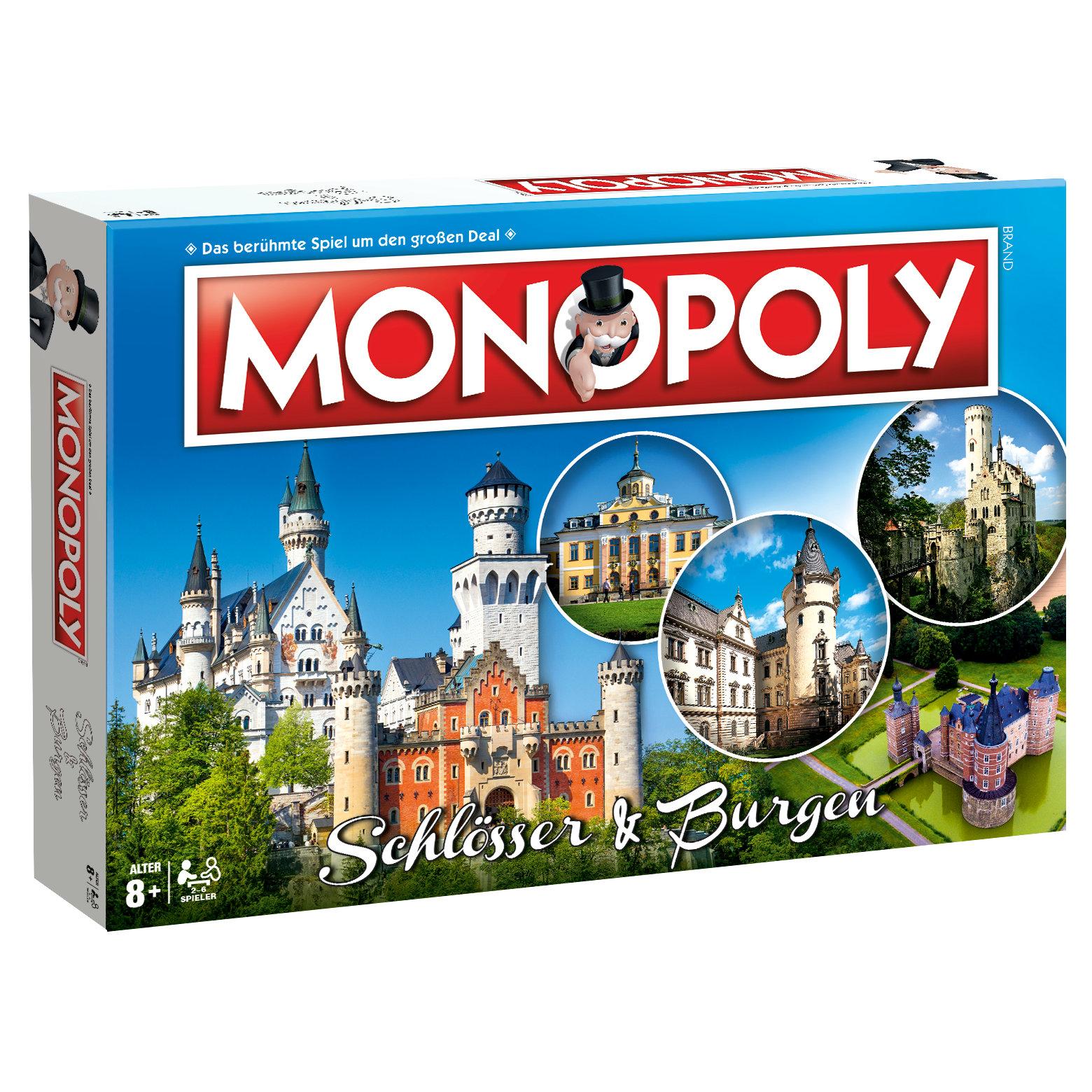 Monopoly Schlösser & Burgen