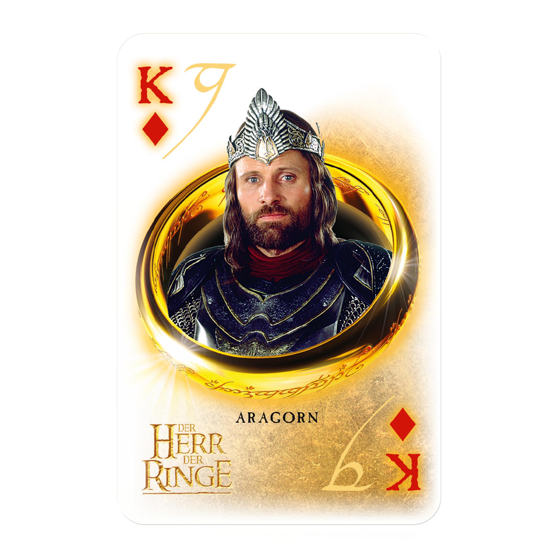 Number 1 Spielkarten Herr der Ringe