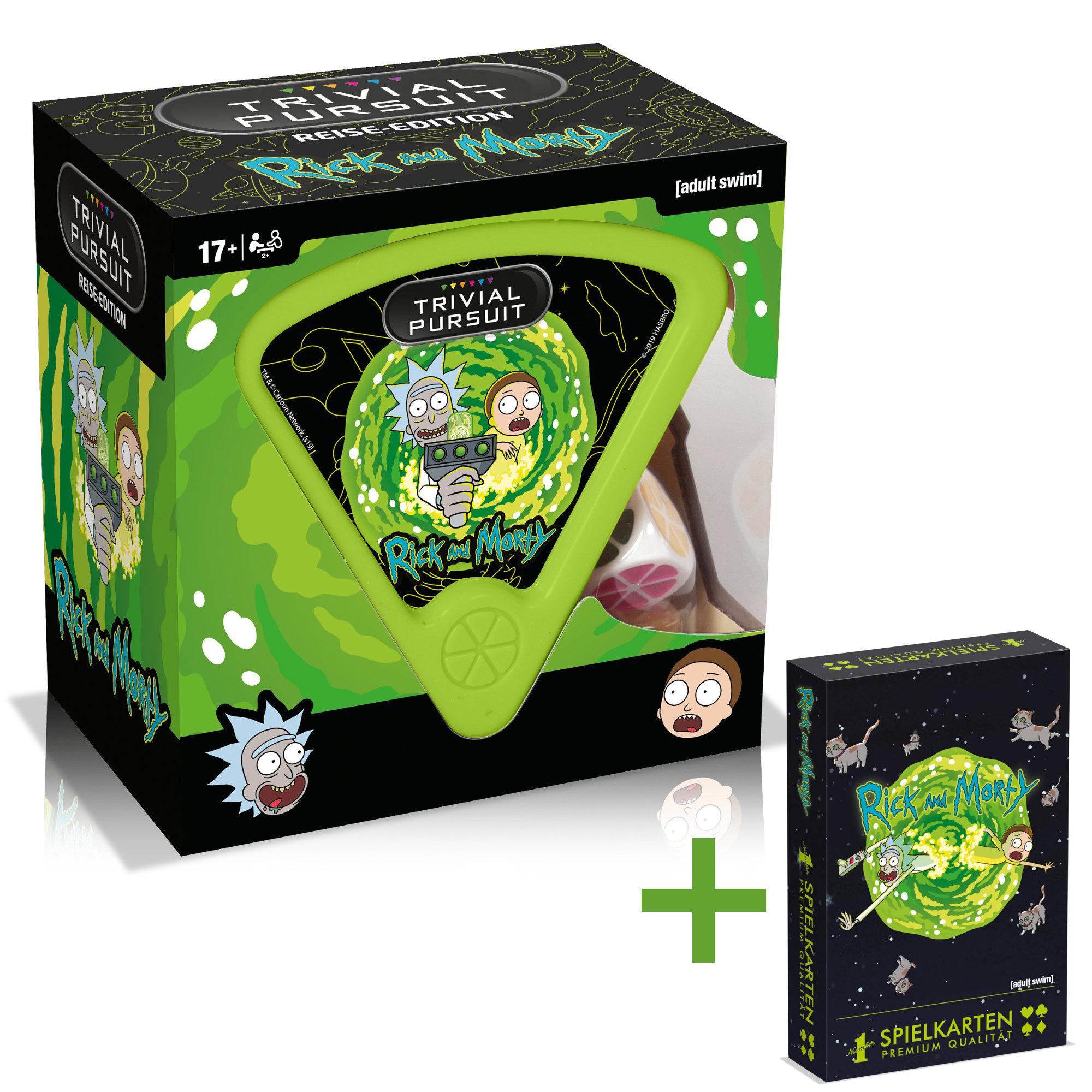 Special Offer: Trivial Pursuit Rick and Morty deutsch + Spielkarten