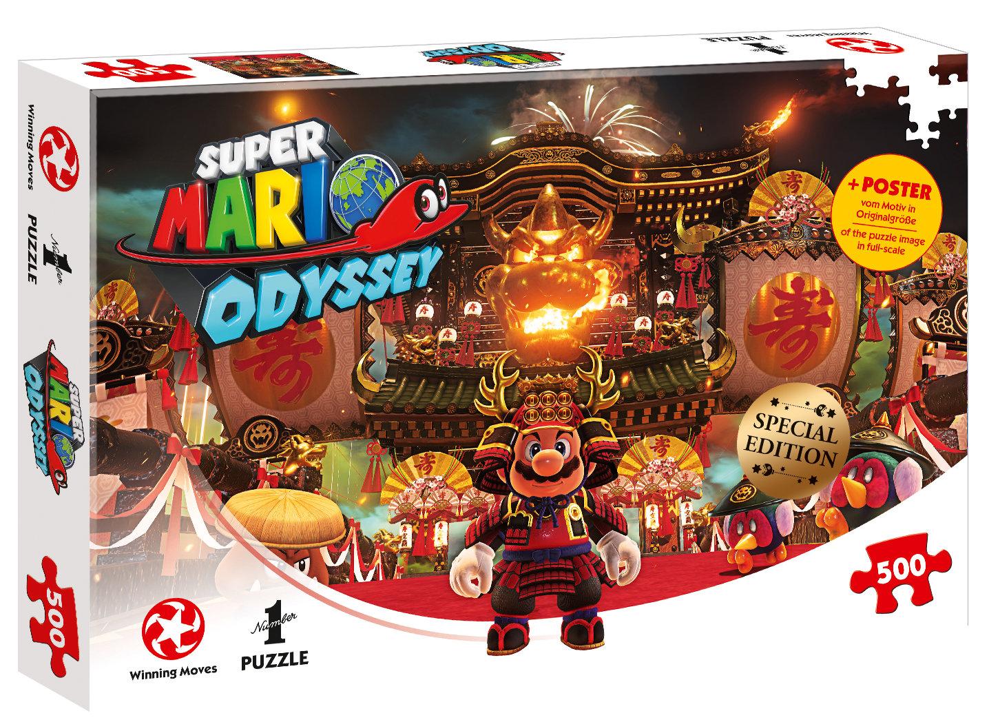 Puzzle Super Mario Odyssey Bowser's Castle 500 Teile