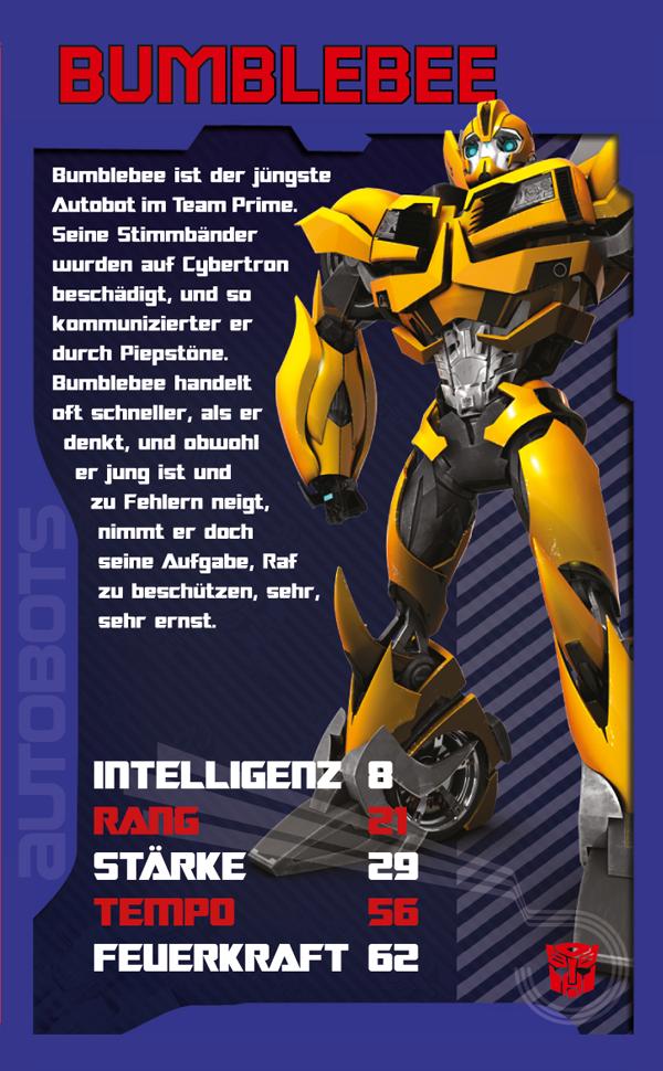 Top Trumps Transformers Prime