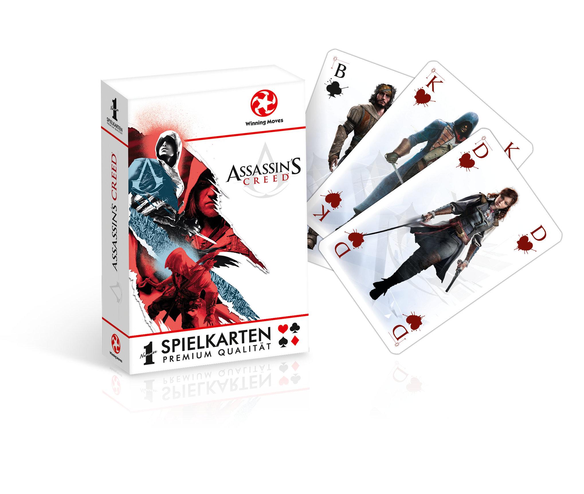 Assassin's Creed Spielkarten