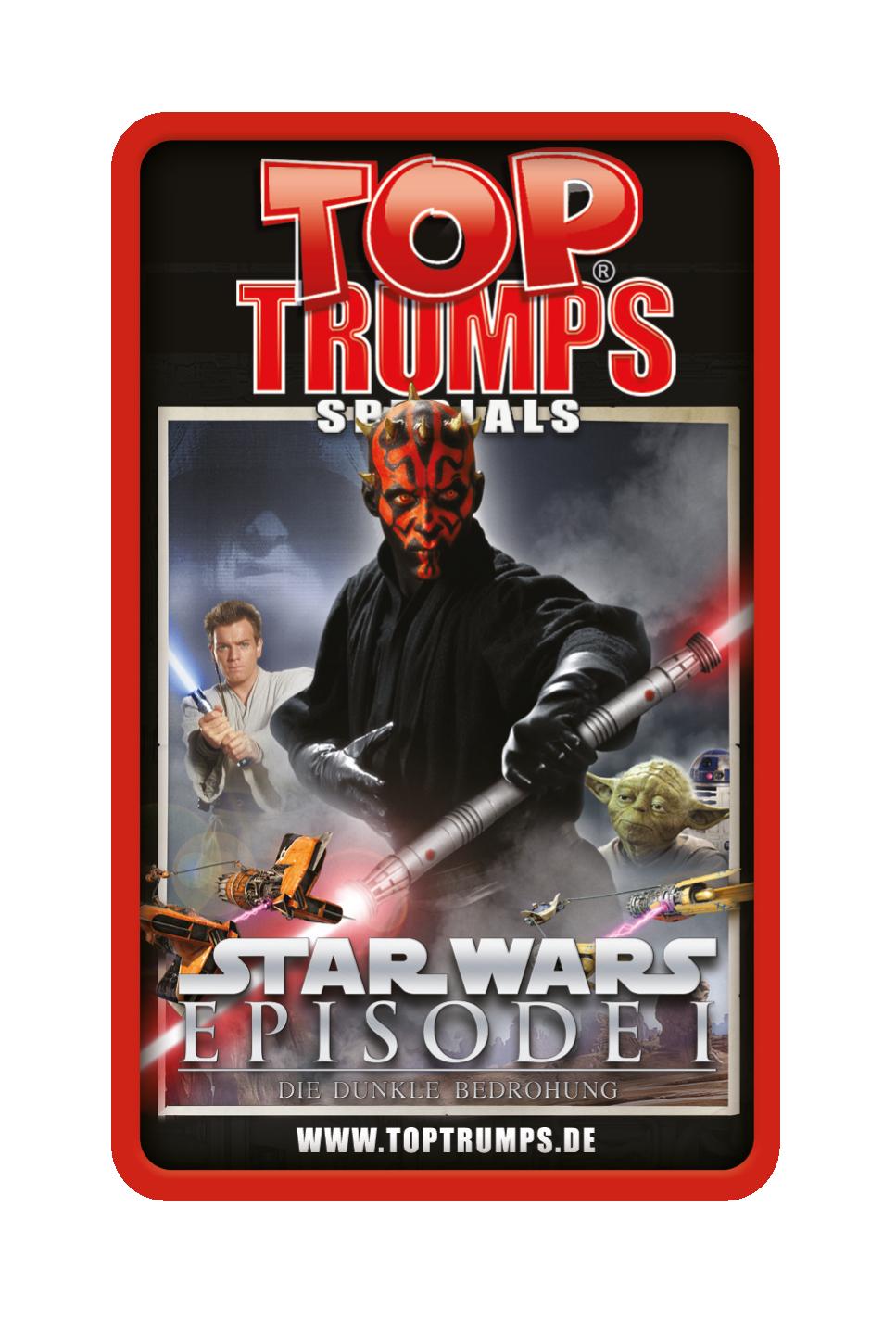 Top Trumps Star Wars Episode 1 - Die dunkle Bedrohung