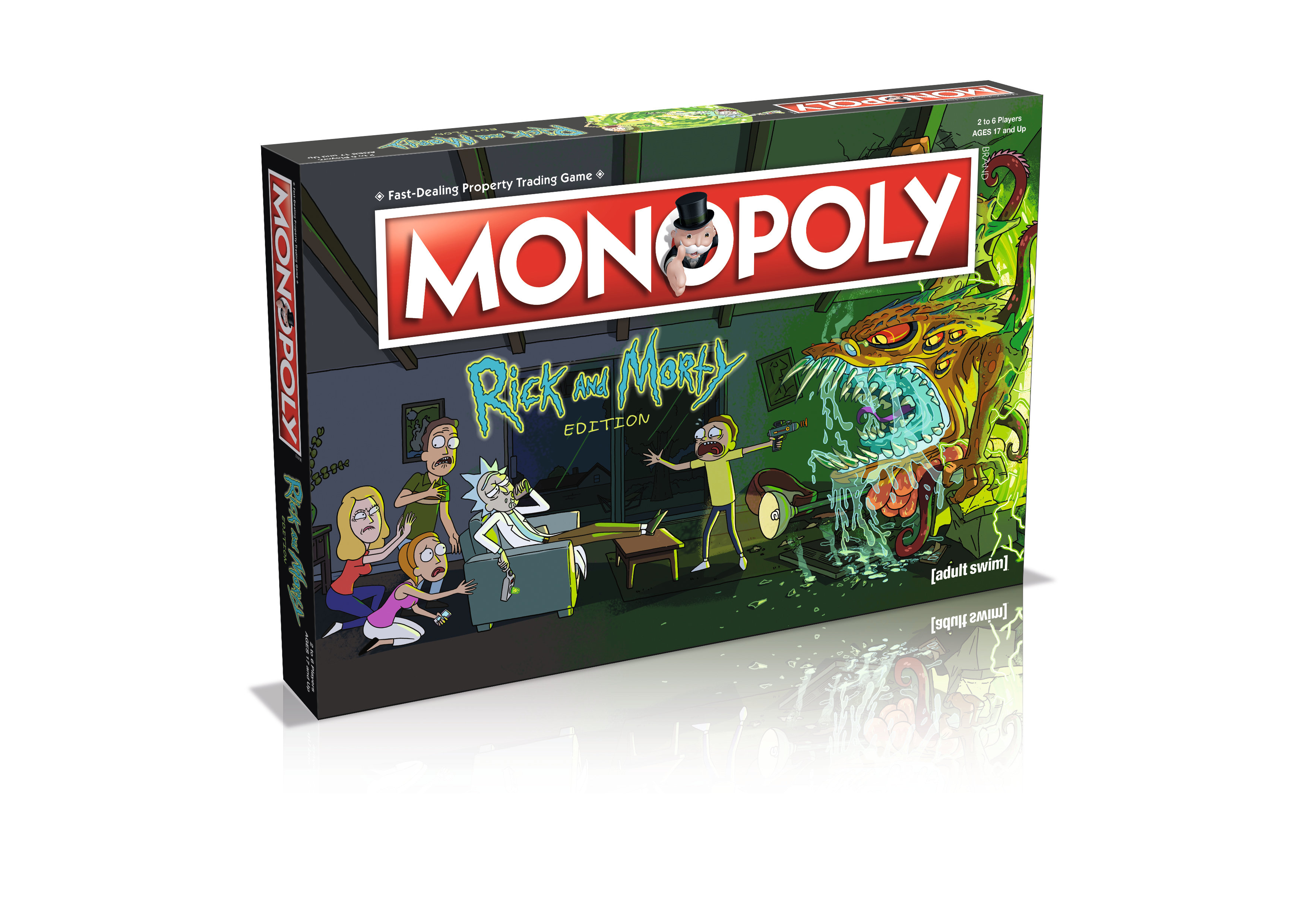 Monopoly Rick & Morty (englisch)