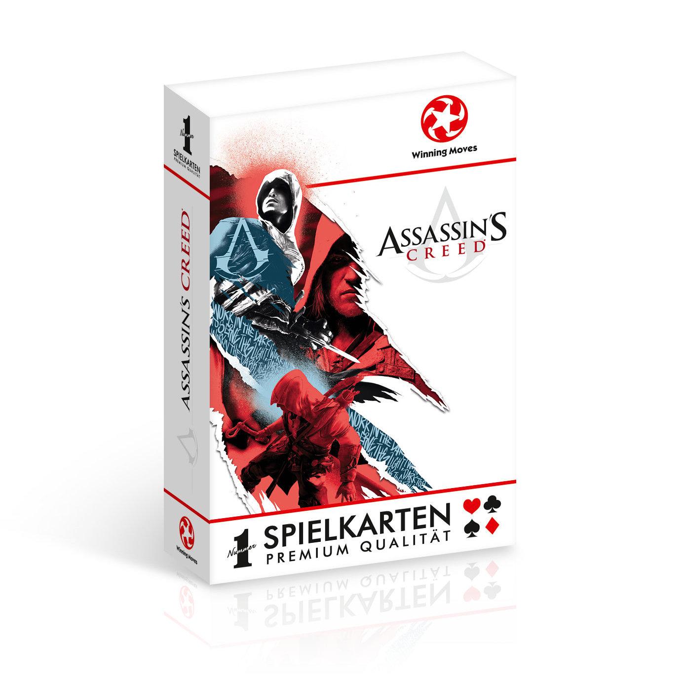 Number 1 Spielkarten Assassin's Creed