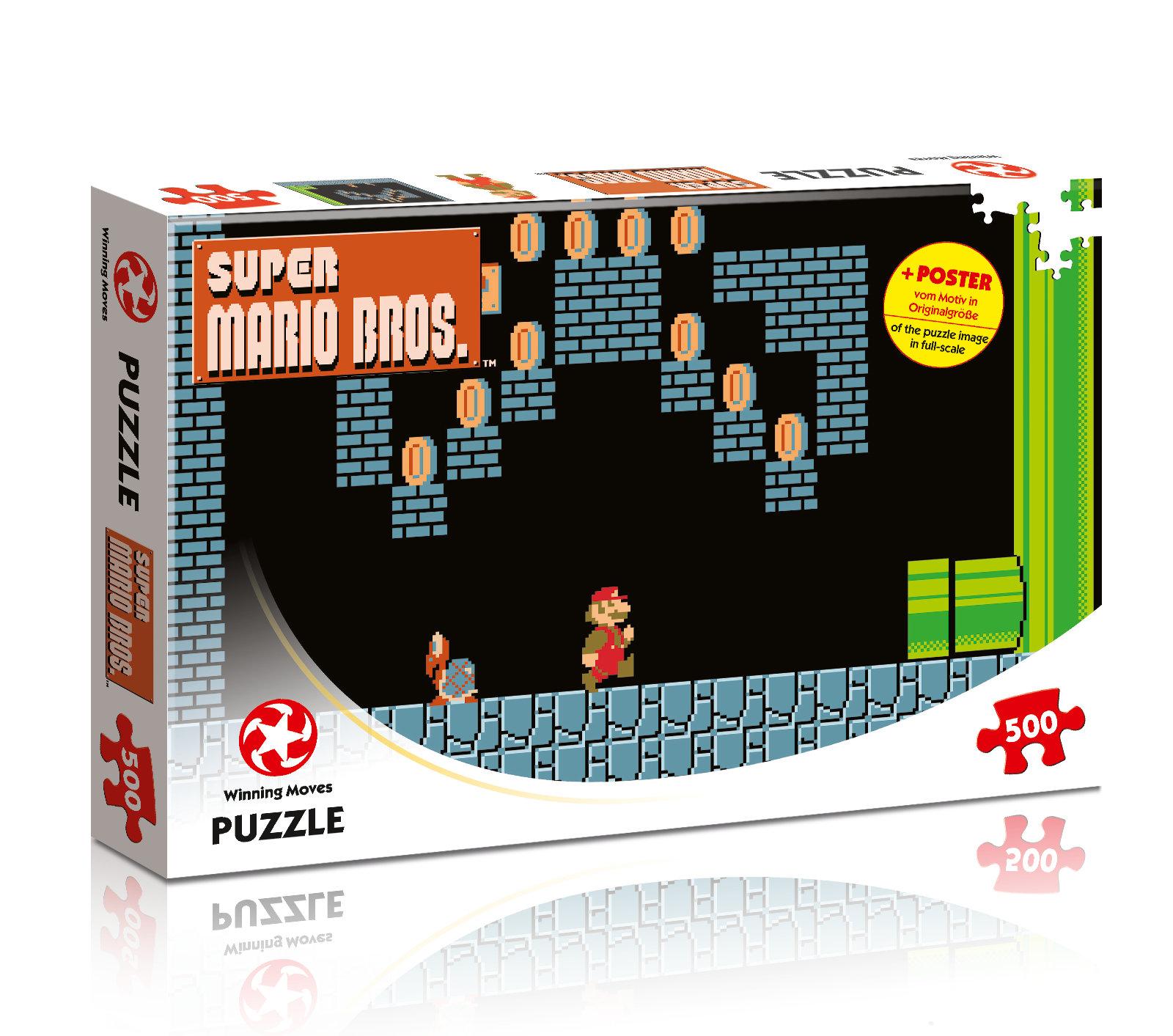 Puzzle Super Mario Bros - Underground Adventures 500 Teile