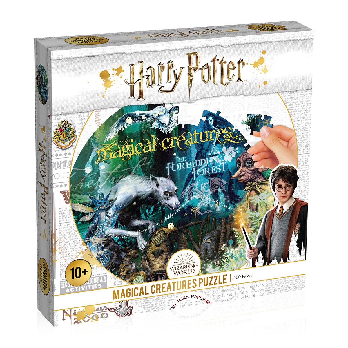 Puzzle Harry Potter Magische Tierwesen, 500 Teile
