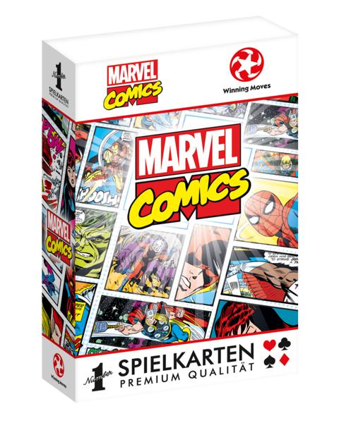 Number 1 Spielkarten Marvel Comics Retro