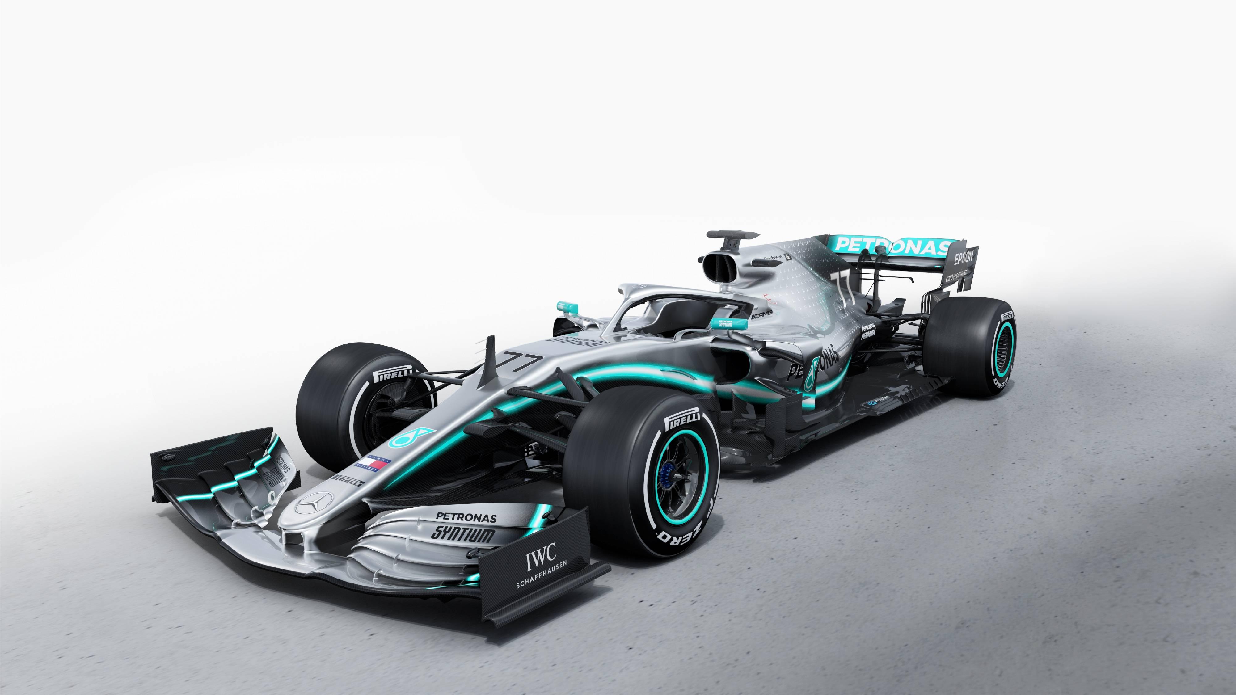 MaistoTech 81382 F1 Mercedes AMG Petronas W10 '19 (Maßstab 1:24) ferngesteuert