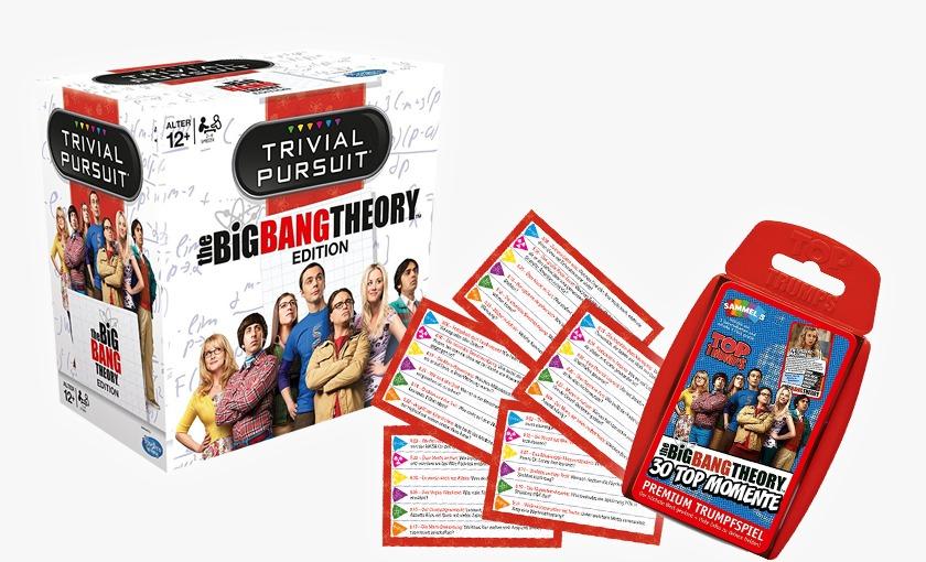 Special Offer:Trivial Pursuit The Big Bang Theory + Top Trumps Big Bang Theory