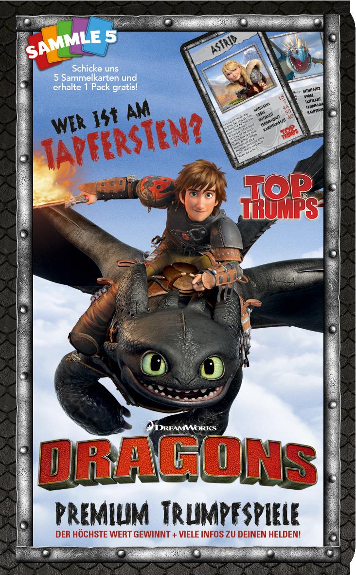 Top Trumps Dragons