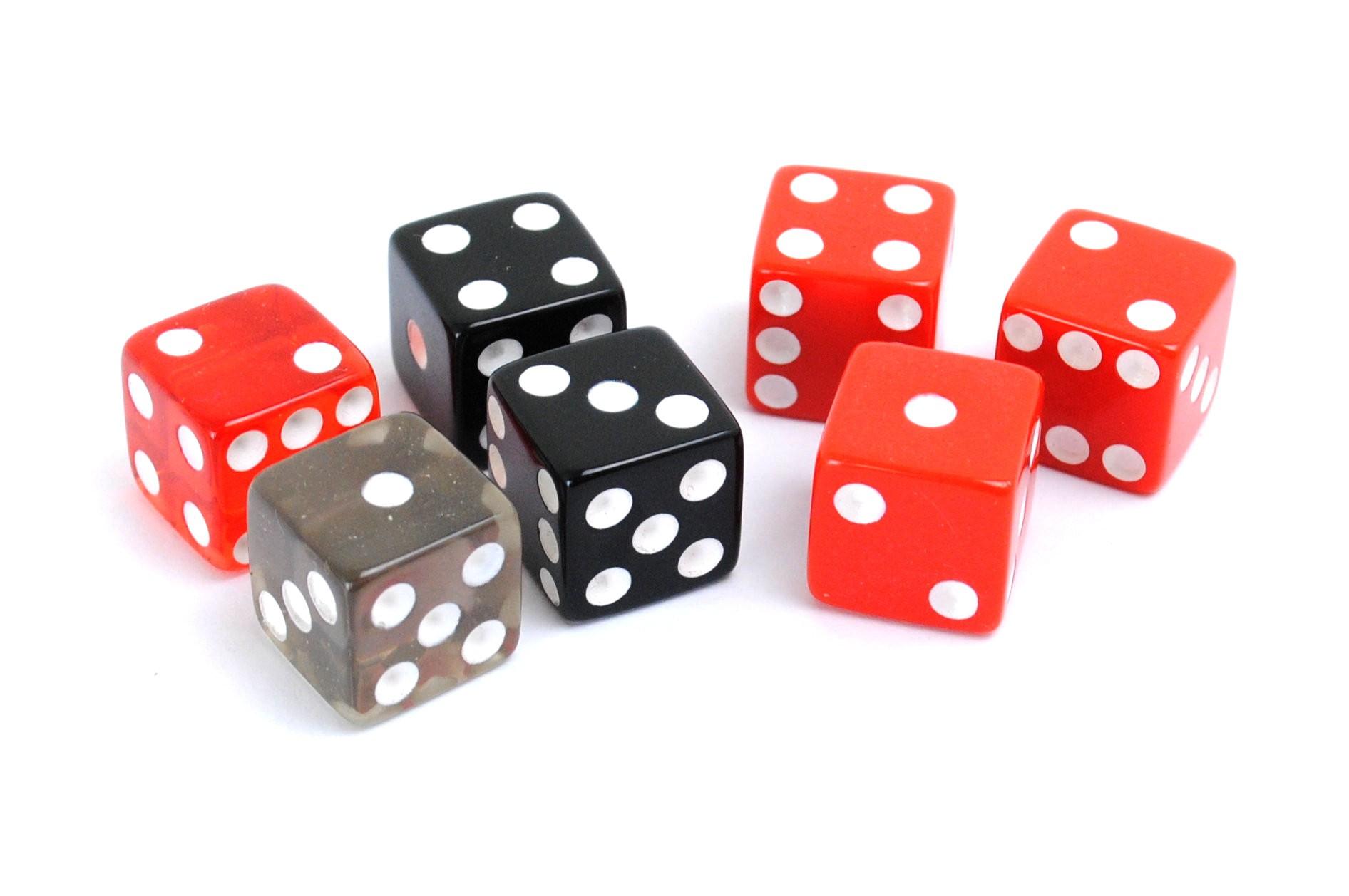 Craps-Würfel / Casino-Würfel