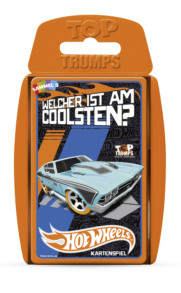 Top Trumps Hot Wheels