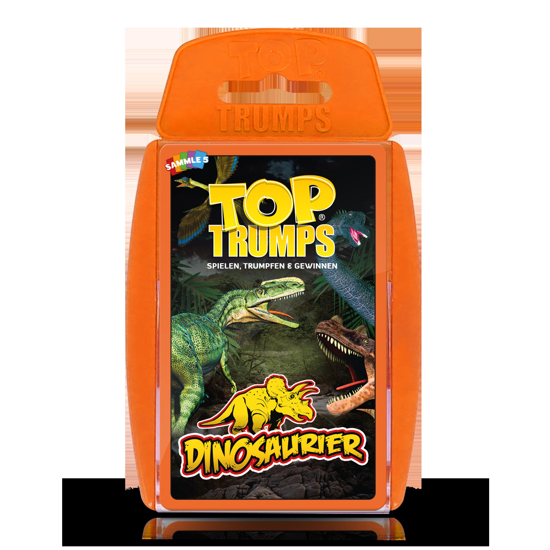 Top Trumps Dinosaurier (orange)