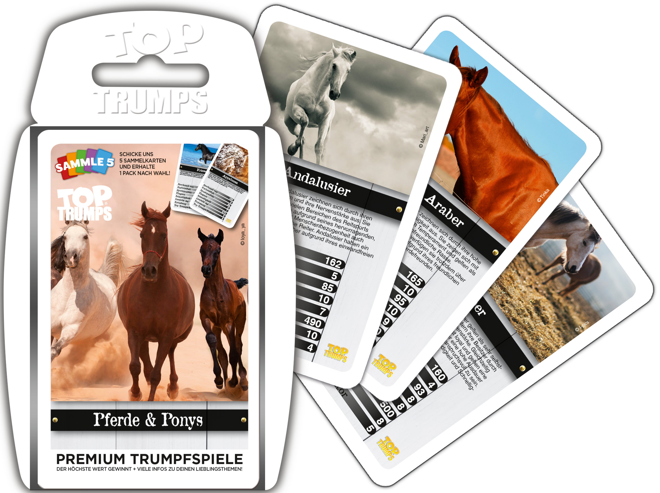 Top Trumps Pferde & Ponys