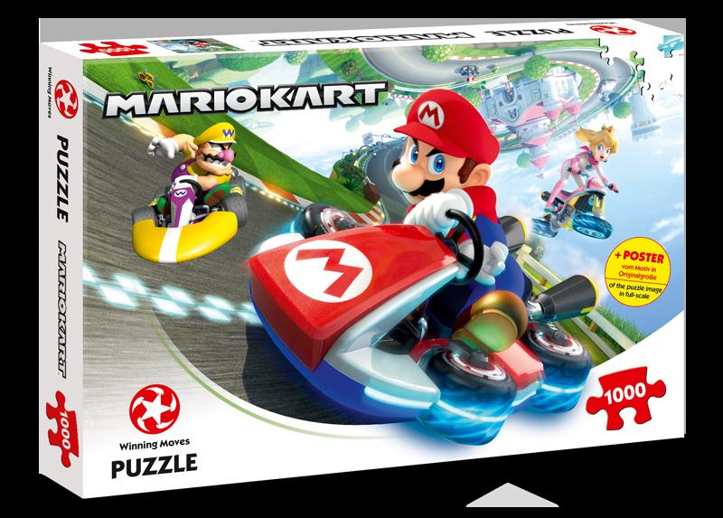 Puzzle Mario Kart - Funracer 1000 Teile