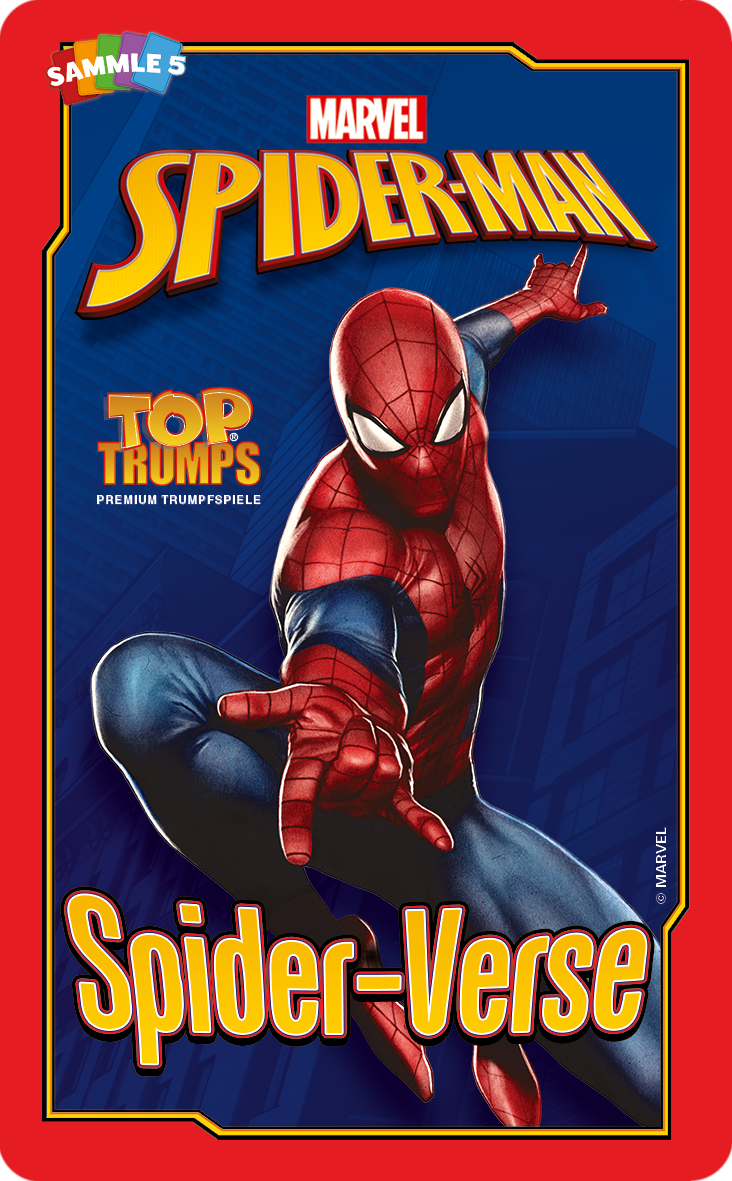 Top Trumps Spiderman