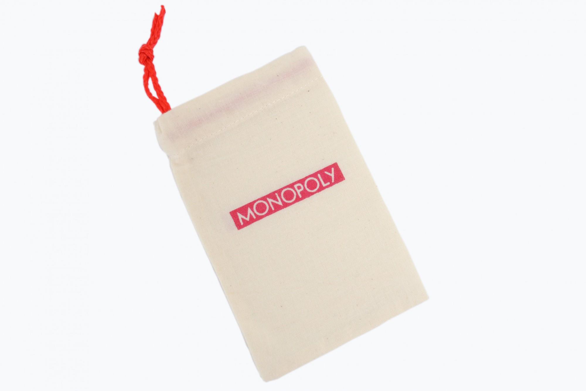 Monopoly Stoffbeutel